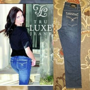 "New w/o tags Tru Luxe Jeans ""SYDNEY"" Mid High Rise"